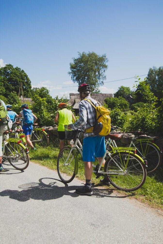 Cycling in Muhu