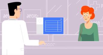 e-health illustration