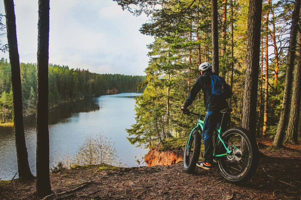 A digital map application covering all Estonian bicycle tours